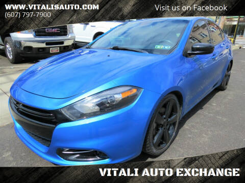 2015 Dodge Dart for sale at VITALI AUTO EXCHANGE in Johnson City NY