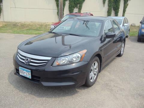 2011 Honda Accord for sale at Metro Motor Sales in Minneapolis MN