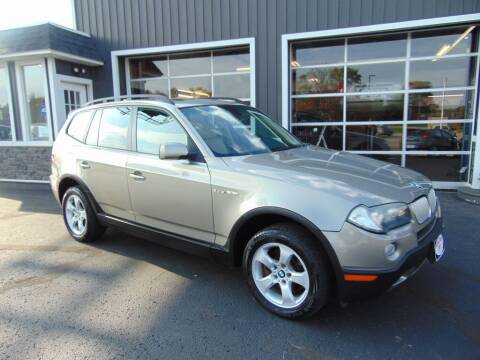 2007 BMW X3 for sale at Akron Auto Sales in Akron OH