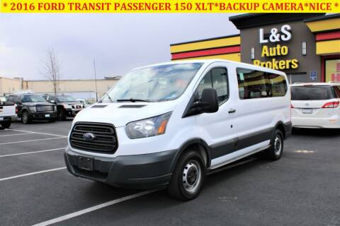 2016 Ford Transit Passenger for sale at L & S AUTO BROKERS in Fredericksburg VA