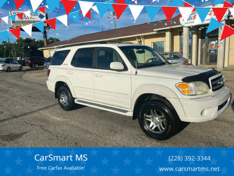 2003 Toyota Sequoia for sale at CarSmart MS in Diberville MS