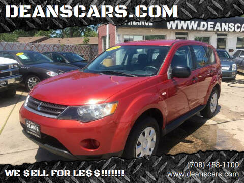 2009 Mitsubishi Outlander for sale at DEANSCARS.COM in Bridgeview IL
