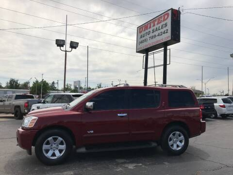 2006 Nissan Armada for sale at United Auto Sales in Oklahoma City OK