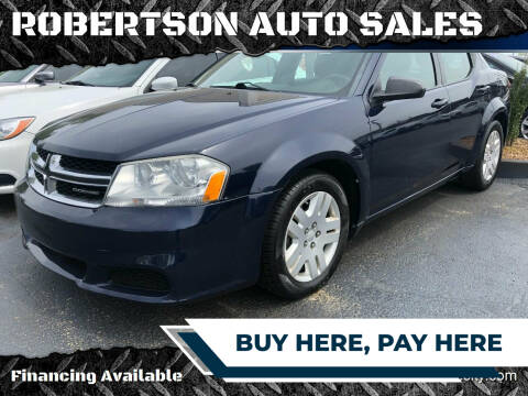 2013 Dodge Avenger for sale at ROBERTSON AUTO SALES in Bowling Green KY