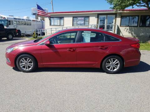 2016 Hyundai Sonata for sale at Revolution Auto Group in Idaho Falls ID