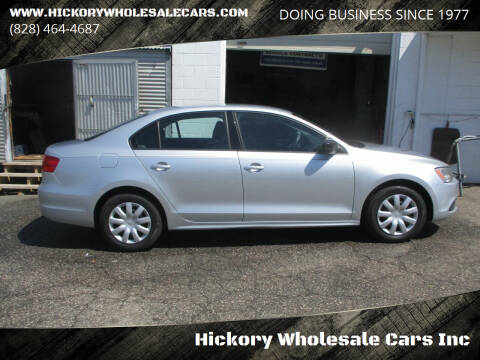 2014 Volkswagen Jetta for sale at Hickory Wholesale Cars Inc in Newton NC