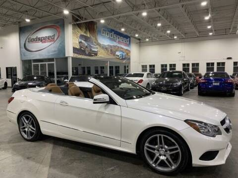 2015 Mercedes-Benz E-Class for sale at Godspeed Motors in Charlotte NC