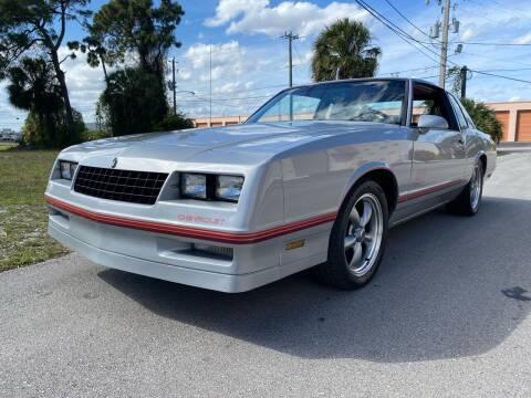 1987 Chevrolet Monte Carlo for sale at American Classics Autotrader LLC in Pompano Beach FL