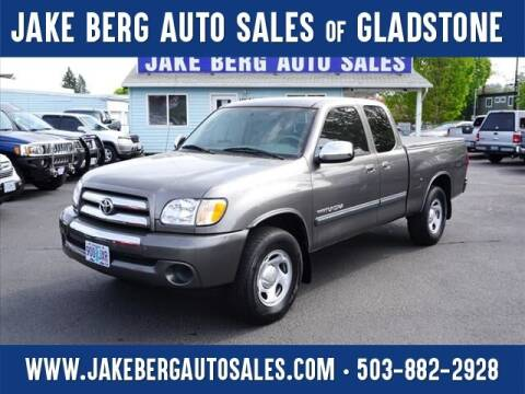 2004 Toyota Tundra for sale at Jake Berg Auto Sales in Gladstone OR