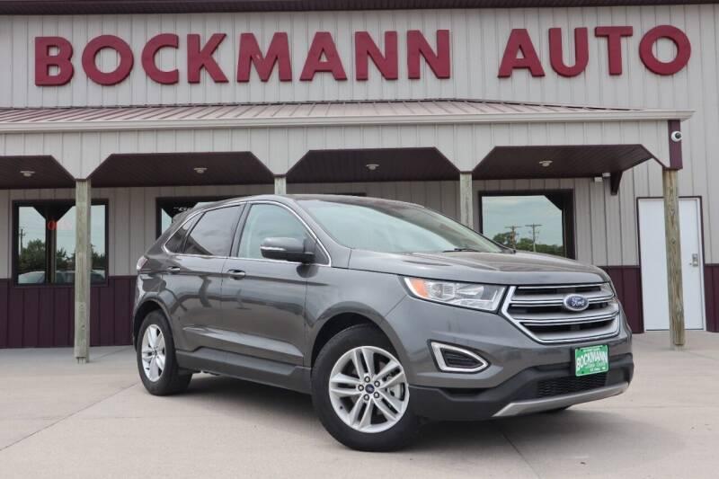 2018 Ford Edge for sale at Bockmann Auto Sales in Saint Paul NE