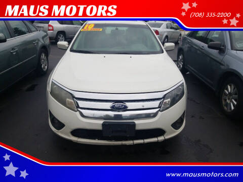 2010 Ford Fusion for sale at MAUS MOTORS in Hazel Crest IL