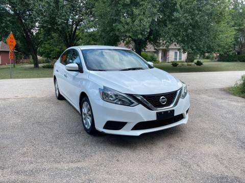 2018 Nissan Sentra for sale at CARWIN MOTORS in Katy TX