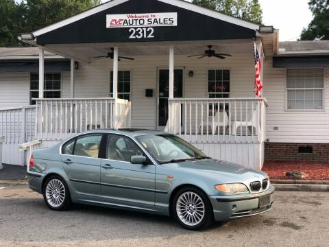 2003 BMW 3 Series for sale at CVC AUTO SALES in Durham NC