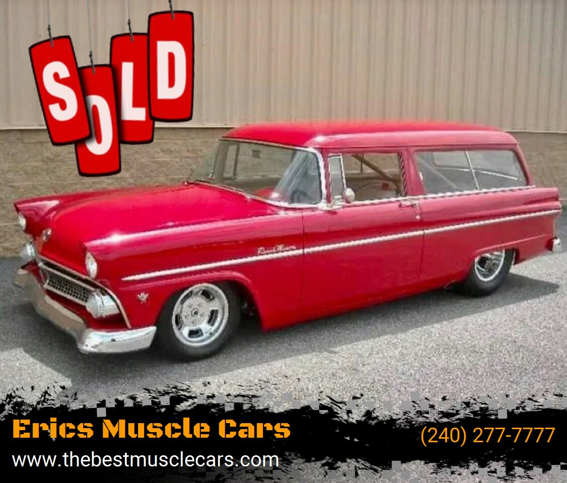 1955 Ford Ranch Wagon SOLD SOLD SOLD