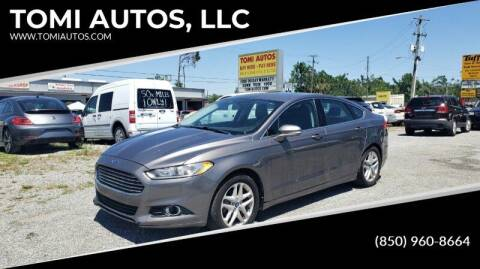2013 Ford Fusion for sale at TOMI AUTOS, LLC in Panama City FL