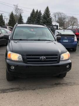 2007 Toyota Highlander for sale at New England Motor Cars in Springfield MA