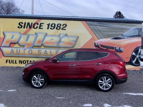 2014 Hyundai Santa Fe Sport for sale at Pyles Auto Sales in Kittanning PA