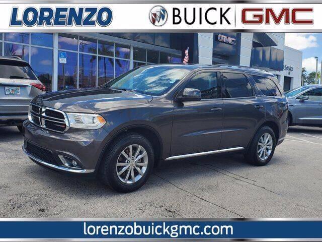 2019 Dodge Durango for sale at Lorenzo Buick GMC in Miami FL