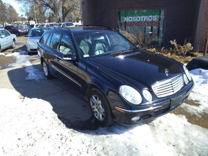 2004 Mercedes-Benz E-Class for sale at Continental Auto Sales in White Bear Lake MN