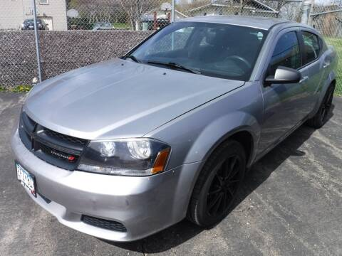 2014 Dodge Avenger for sale at J & K Auto - J and K in Saint Bonifacius MN