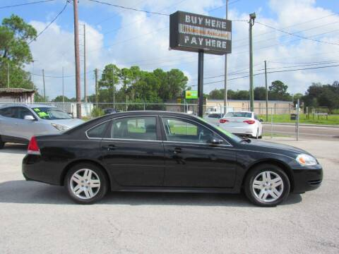 2015 Chevrolet Impala Limited for sale at Checkered Flag Auto Sales EAST in Lakeland FL
