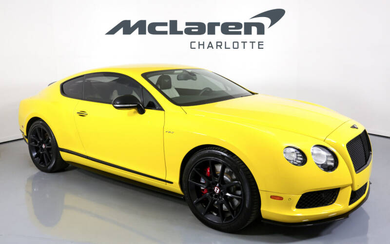 2015 Bentley Continental for sale in Charlotte, NC