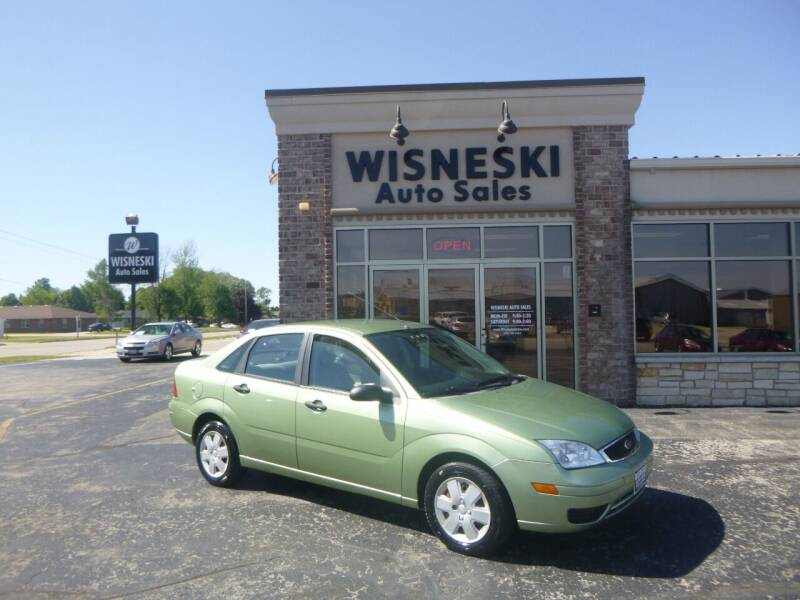 2007 Ford Focus for sale at Wisneski Auto Sales, Inc. in Green Bay WI