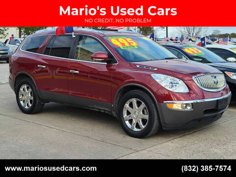 2009 Buick Enclave for sale at Mario's Used Cars in Houston TX