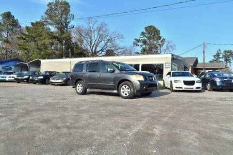 2008 Nissan Armada for sale at Barrett Auto Sales in North Augusta SC