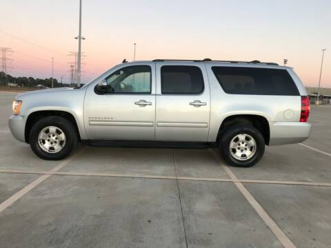 2011 Chevrolet Suburban for sale at ALL AMERICAN FINANCE AND AUTO in Houston TX