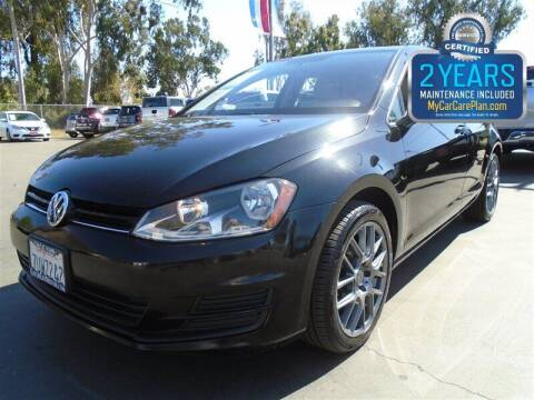 2016 Volkswagen Golf for sale at Centre City Motors in Escondido CA
