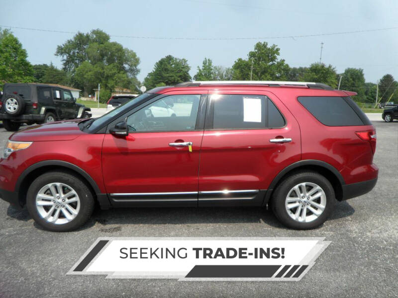 2014 Ford Explorer for sale at CARSON MOTORS in Cloverdale IN