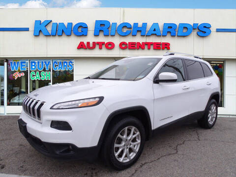 2015 Jeep Cherokee for sale at KING RICHARDS AUTO CENTER in East Providence RI