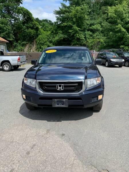 2010 Honda Ridgeline for sale at ALAN SCOTT AUTO REPAIR in Brattleboro VT