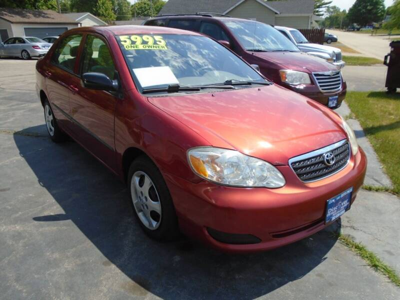 2008 Toyota Corolla for sale at DISCOVER AUTO SALES in Racine WI
