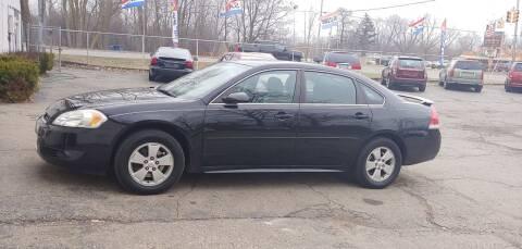 2011 Chevrolet Impala for sale at Superior Motors in Mount Morris MI