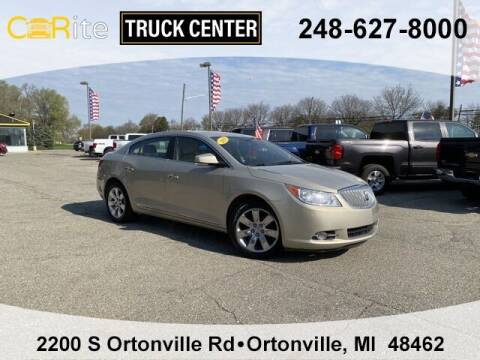 2011 Buick LaCrosse for sale at Jamie Sells Cars 810 in Ortonville MI