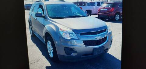 2012 Chevrolet Equinox for sale at I-80 Auto Sales in Hazel Crest IL
