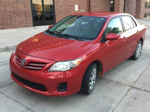 2013 Toyota Corolla for sale at STATEWIDE AUTOMOTIVE LLC in Englewood CO