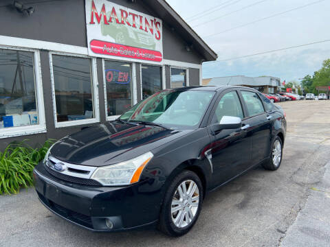 2009 Ford Focus for sale at Martins Auto Sales in Shelbyville KY