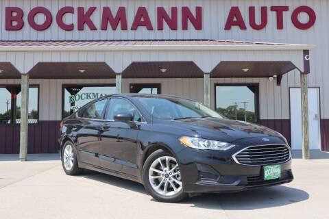 2019 Ford Fusion for sale at Bockmann Auto Sales in Saint Paul NE