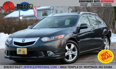 2014 Acura TSX Sport Wagon for sale at Auto Sales Express in Whitman MA