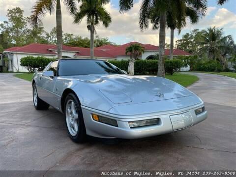 1996 Chevrolet Corvette for sale at Autohaus of Naples Inc. in Naples FL