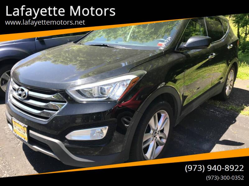 2013 Hyundai Santa Fe Sport for sale at Lafayette Motors in Lafayette NJ