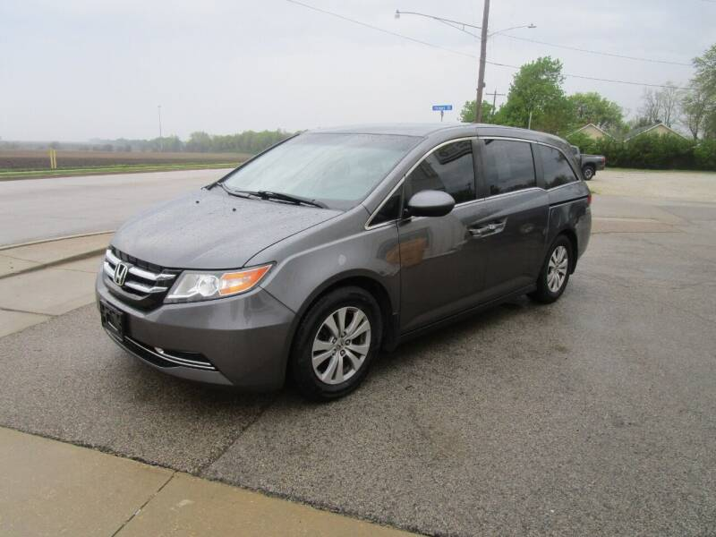 2014 Honda Odyssey for sale at Dunlap Motors in Dunlap IL