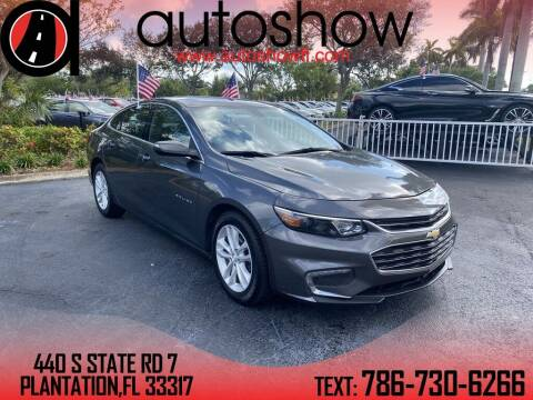 2017 Chevrolet Malibu for sale at AUTOSHOW SALES & SERVICE in Plantation FL
