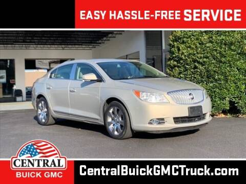 2012 Buick LaCrosse for sale at Central Buick GMC in Winter Haven FL