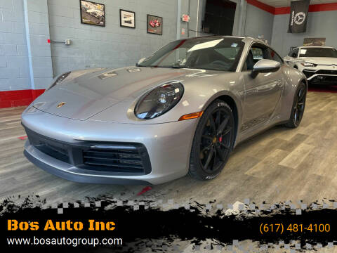 2020 Porsche 911 for sale at Bos Auto Inc in Quincy MA