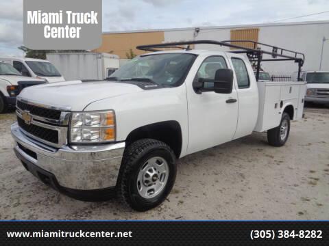 2011 Chevrolet Silverado 2500HD for sale at Miami Truck Center in Hialeah FL