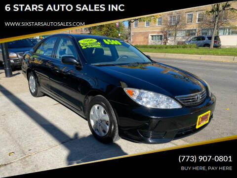 2006 Toyota Camry for sale at 6 STARS AUTO SALES INC in Chicago IL